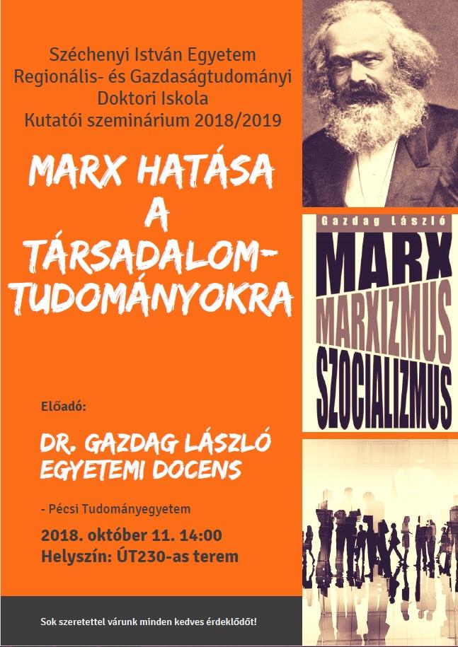 Meghívó Kutatói szemináriumra 2018. október 11.