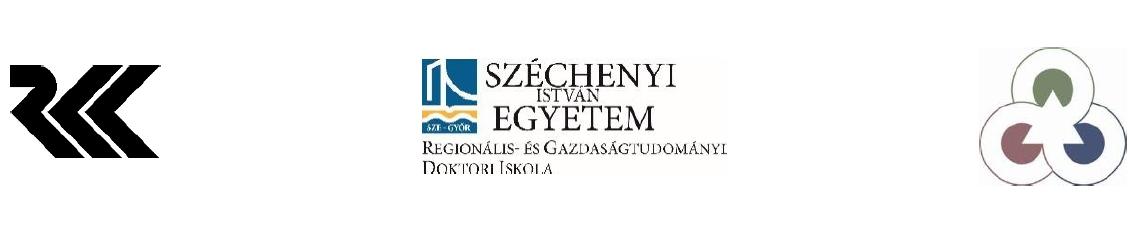 Fiatal Regionalisták XI. Konferenciája 2019. június 21-22.