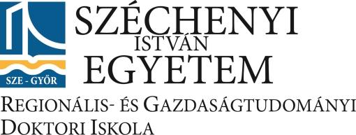 Védések és műhelyviták a Regionális- és Gazdaságtudományi Doktori Iskolában - 2017. november